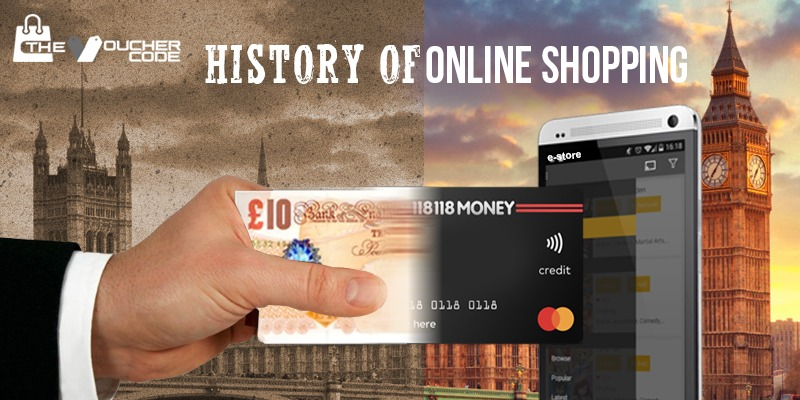 History Of Online Shopping Blog banner, Online Shopping Blog banner